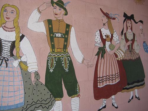 """Maxine Albro Hofsas House Mural"""