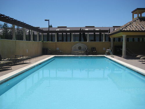 """Best Western Dry Creek Inn Pool"""