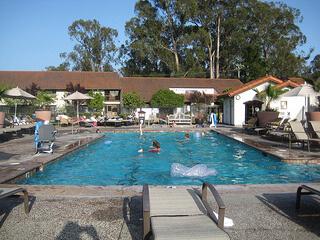 """""""50-foot outdoor pool"""""""