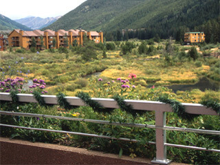 Spectacular Mountain Views at The Inn at Keystone