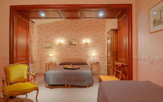 Each room has unique decor
