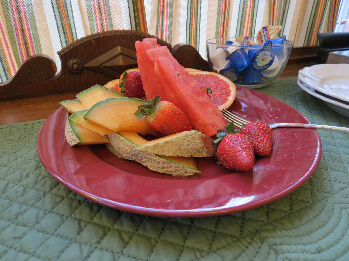 Fruit plate-so sweet, so delicious
