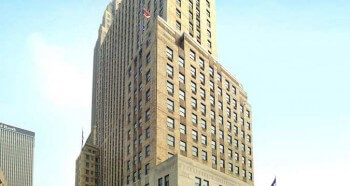 The historic Carew Tower were the Netherland Plaza Hotel is located
