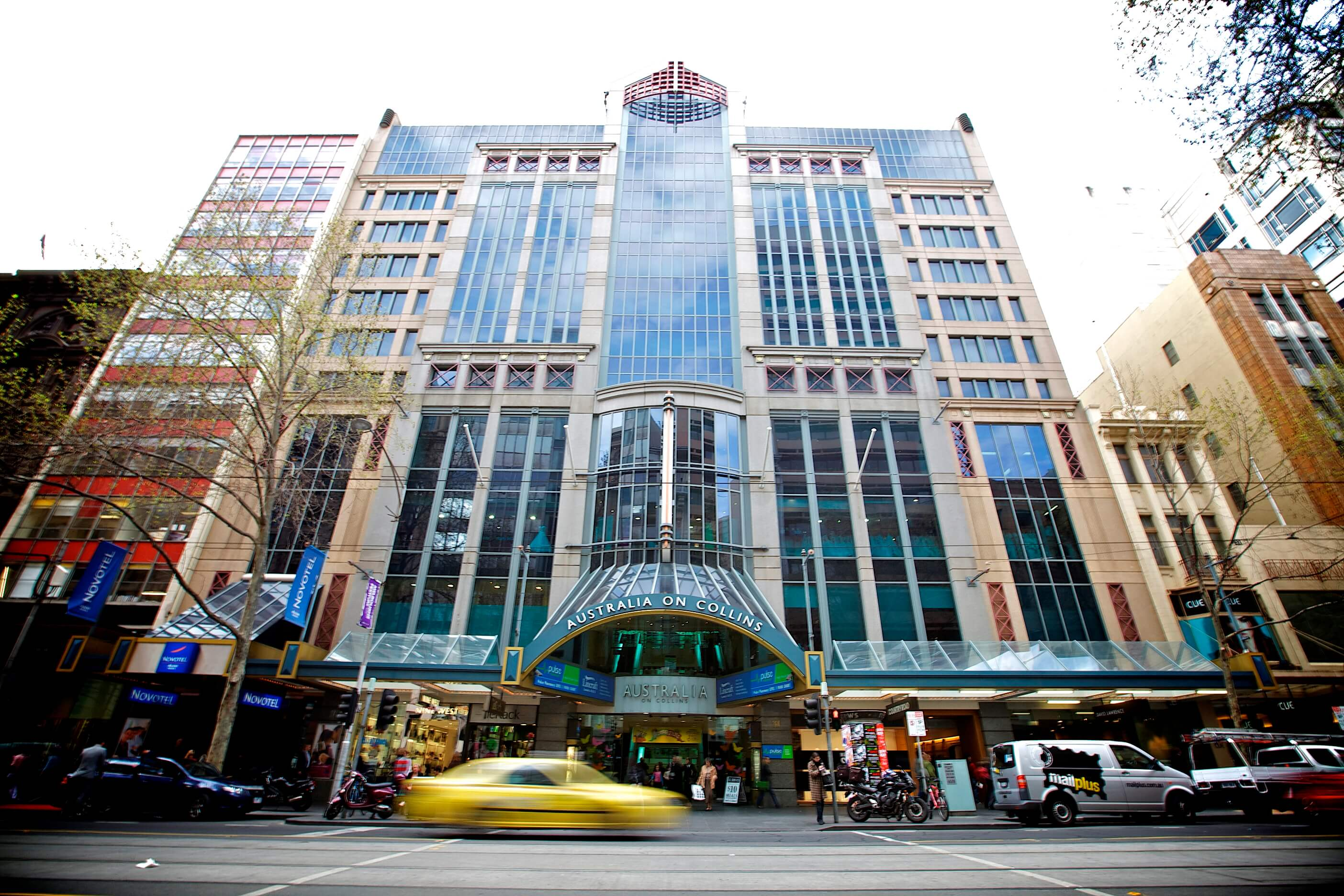 Hotel Exterior on Collins Street