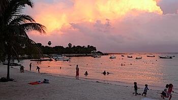 Hotel Akumal Caribe view