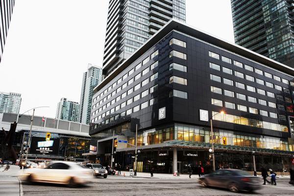 Exterior, Hotel Le Germain Maple Leaf Square, Toronto, Ontario, Canada