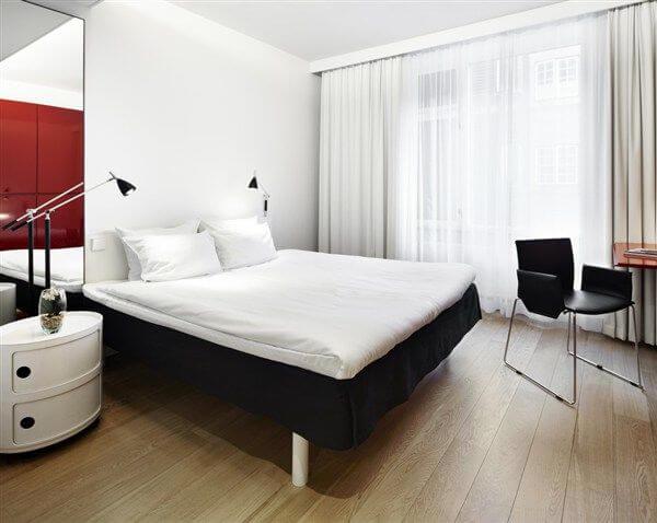 Standard room, First Hotel Twentyseven, Copenhagen, Denmark
