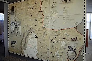 Tierra Atacama map