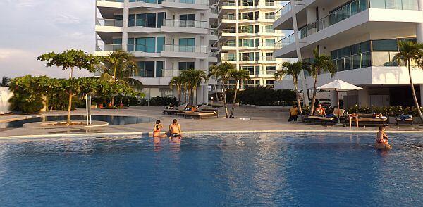 Pool At The Sonesta Cartagena
