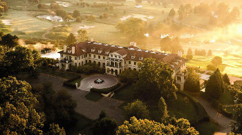 Keswick Hall in the midst of Virginia's wine country