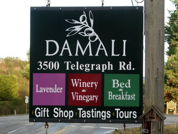 Damali Lavender Farm, Winery, & B&B, Cowichan Valley, British Columbia, Canada