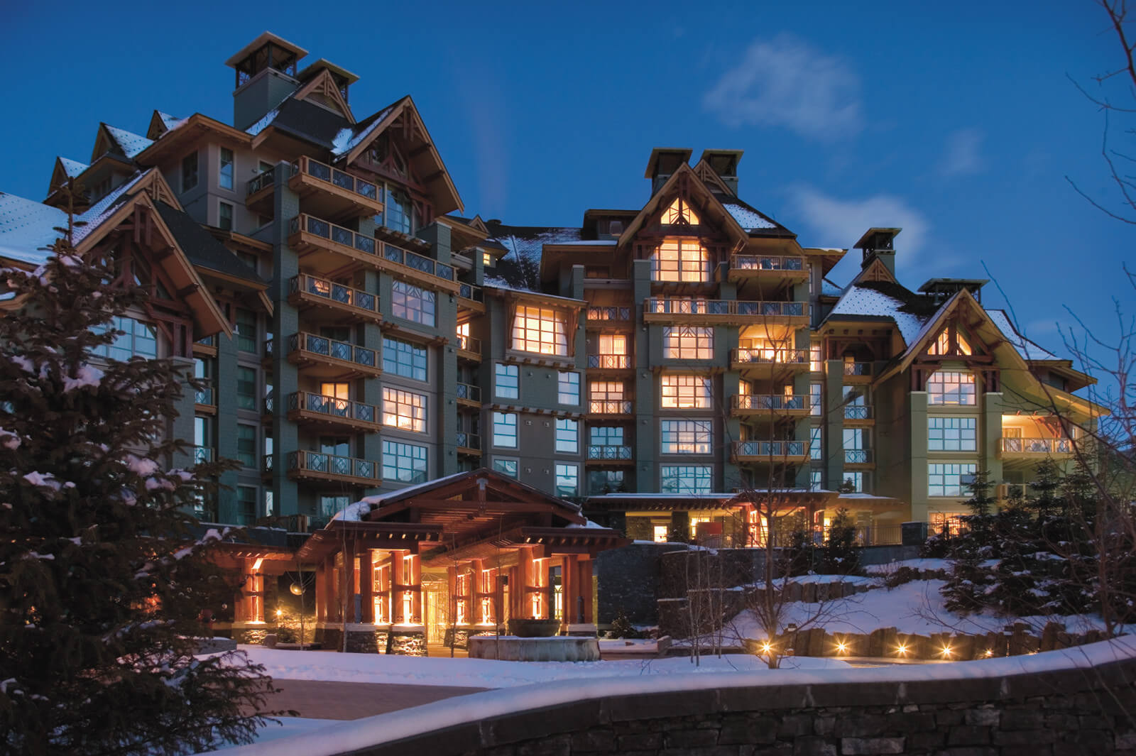 Hot Chocolate drinking is taken to new heights at the Four Seasons Whistler