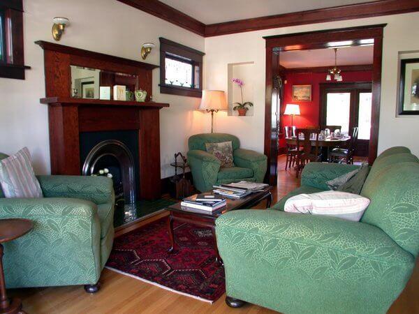 Corkscrew Inn living room, Vancouver, British Columbia, Canada