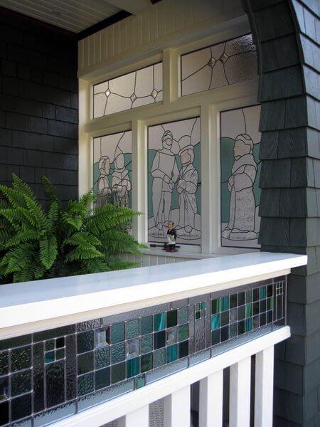 Corkscrew Inn north veranda, Vancouver, British Columbia, Canada