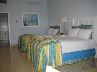 Pueblo Bonito Emerald Bay bedroom;