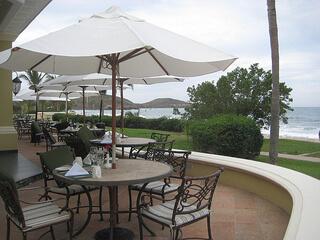 Pueblo Bonito Emerald Bay patio dining