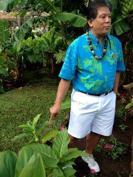 Cultural garden tour Ka'anapali Beach Hotel, Maui