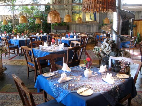 Dining room, Mama's Fish House, Maui, Hawaii