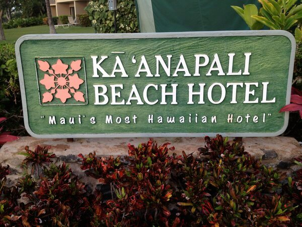 Maui's Most Hawaiian Hotel, Ka'anapali Beach, Maui, Hawaii