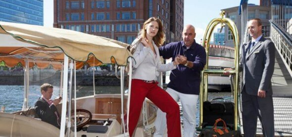 Seaport Hotel's eco-friendly Water Taxi