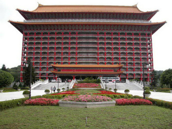 The outside of the Taipei Grand Hotel