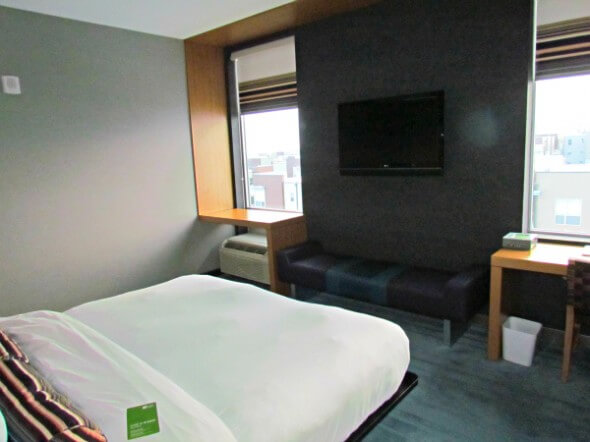 The Aloft Broomfield Denver features large, airy rooms.