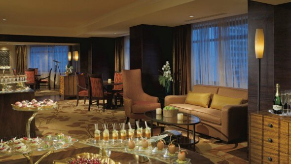 Splurge on Club-Level access at the Ritz-Carlton Denver with Club-Level access.