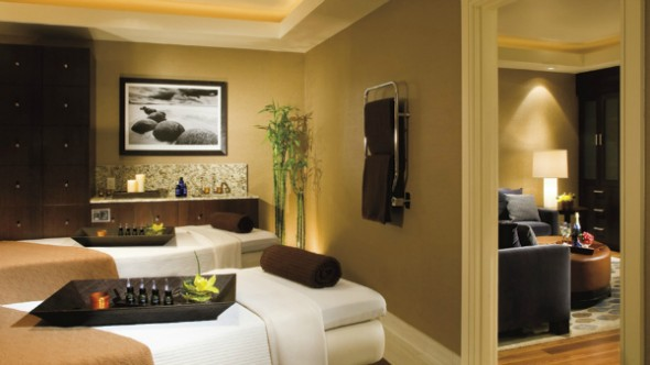Spa-tastic, a romantic couple's retreat at the Ritz Carlton Spa in Denver