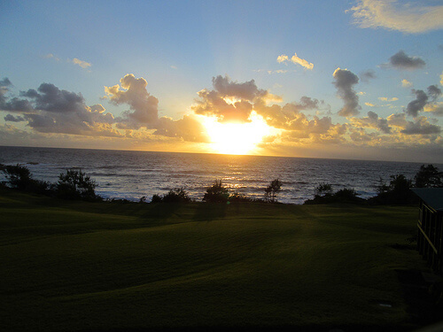 Travaasa Hana Maui sunrise