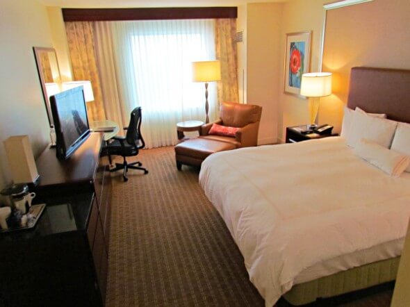 The Hilton Orlando guest suites