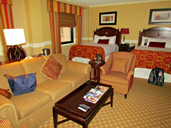 Our Spacious Accommodations At Omni Parker House.