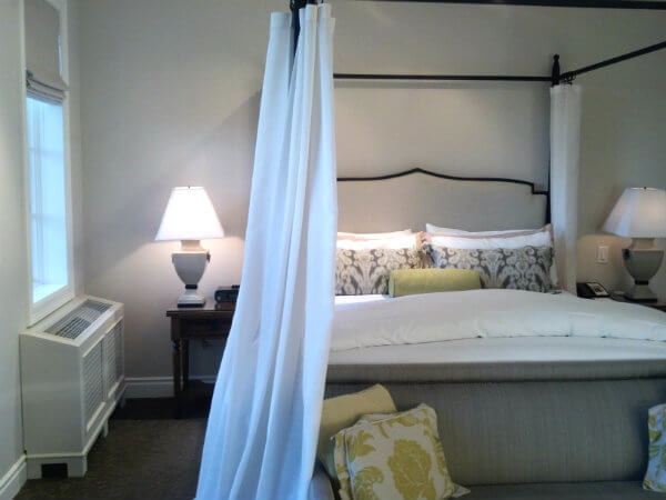 King Room at the Hotel Yountville