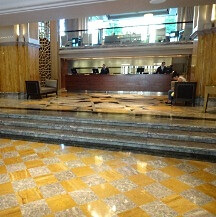 The lobby at Grand Hyatt Istanbul
