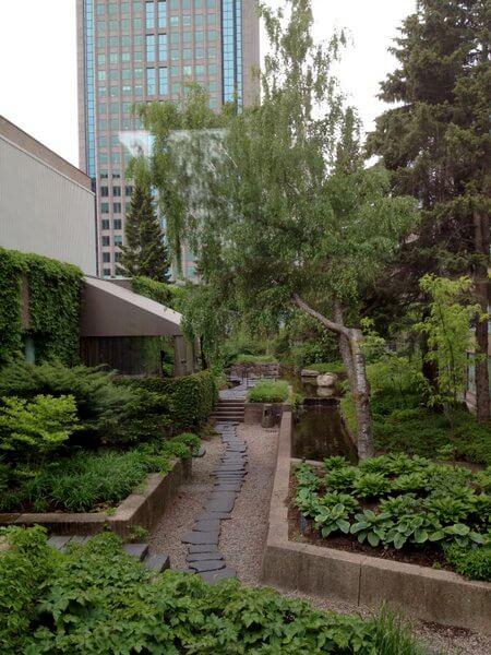 Garden, Hilton Montreal Bonaventure, Montreal, Quebec, Canada