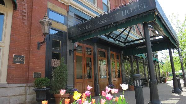 blennerhassett hotel front
