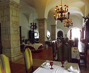 Pousada restaurant Alentejo