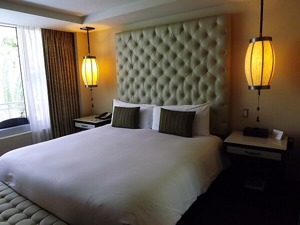 South Beach hotel room