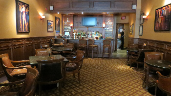 Spats Lounge-- for libations and lighter fare