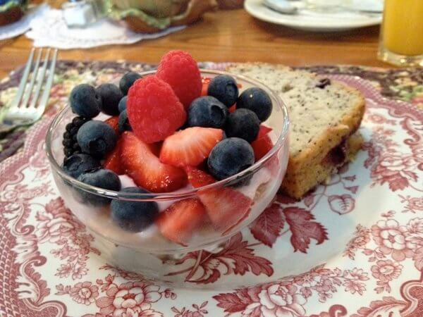 Breakfast, Wild Iris Inn, LaConner, Washington