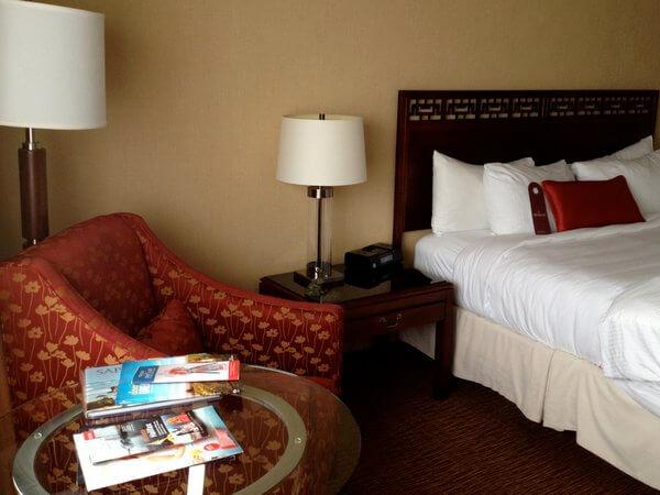 Guest room, Prince George Hotel, Halifax, Nova Scotia, Canada