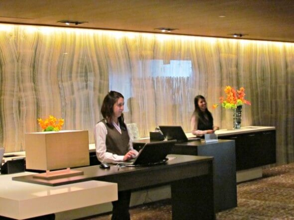 Check-in is personal at the renovated Grand Hyatt Denver