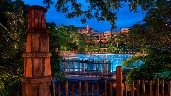 The Animal Kingdom Lodge's pool is yet another reason to stay.