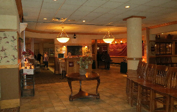 Kellly Inn Lobby with Minerva's Restaurant