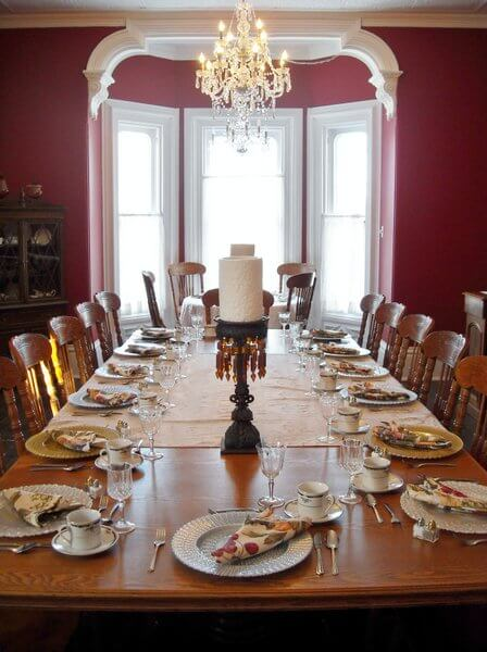 Dining room, Hillcrest House B&B, Waterloo, Ontario, Canada