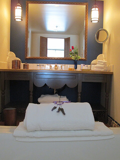 Ojai Valley Inn Garden Suite Bathroom