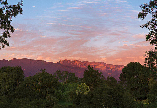 "Ojai, California ""pink moment"""