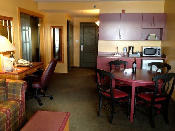 Suite interior, Rodd Miramichi River Hotel, Miramichi, New Brunswick