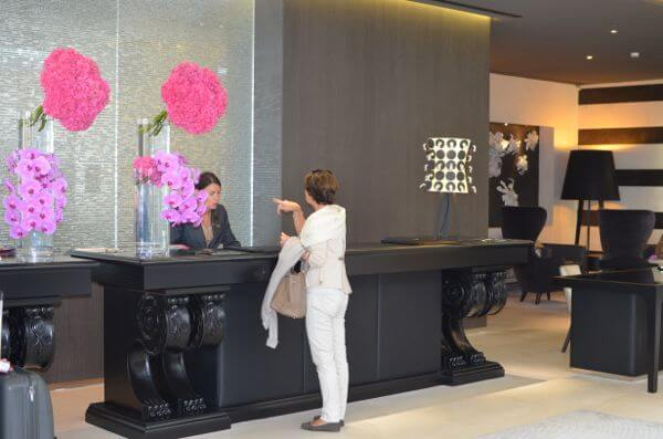 Check-in at Marseille's InterContinental Hotel
