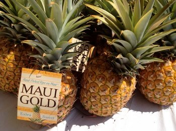 Maui pineapples