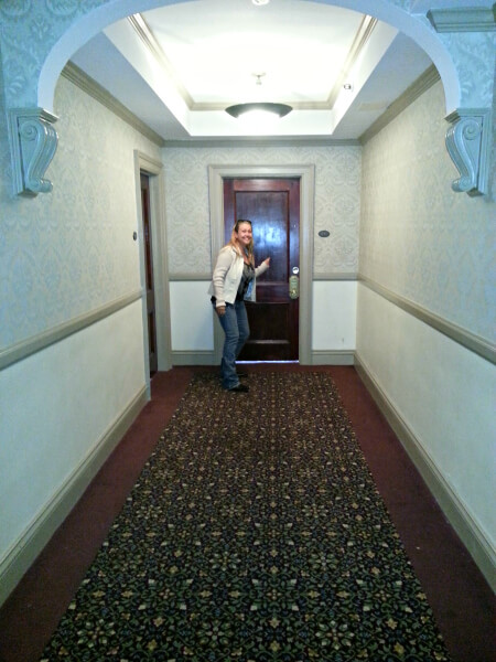 Room 217 at The Stanley Hotel where Stephen King wrote the Shining.